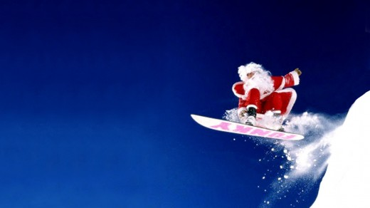 santa-snowboarding-background-catching-air